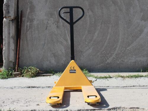 Рохля\тележка гидравлическая Stax 2000 кг.  ролики нейлон.
