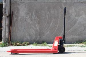 Рохля Тележка гидравлическая Stax 2000 кг. Ролики полиуретан