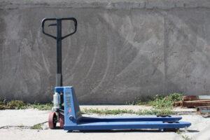 Рохля Тележка гидравлическая Stax 3000 кг колеса полиуретан, интегрированный гидроузел.